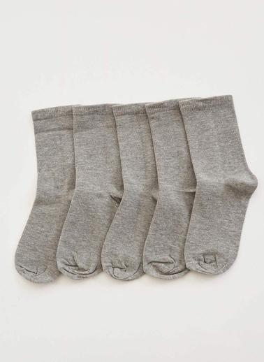 DeFacto Çorap Seti Gri